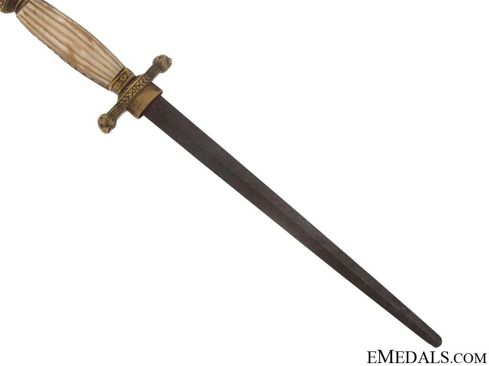 RARE M-1903/29 Royal Italian Naval Academy Cadet Dagger