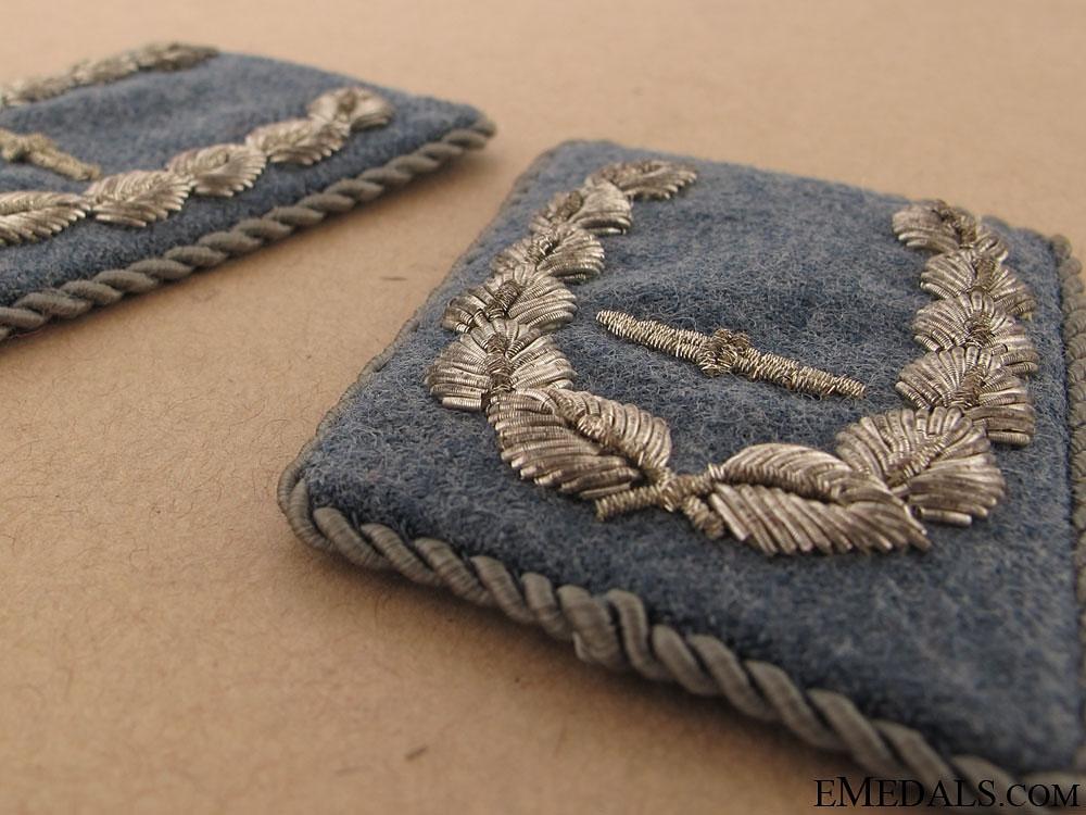 Pair of Collar Tabs-Air Force Major (Bojnik)