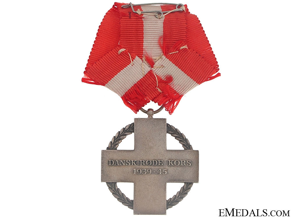 WWII Danish Red Cross Decoration 1939-1945