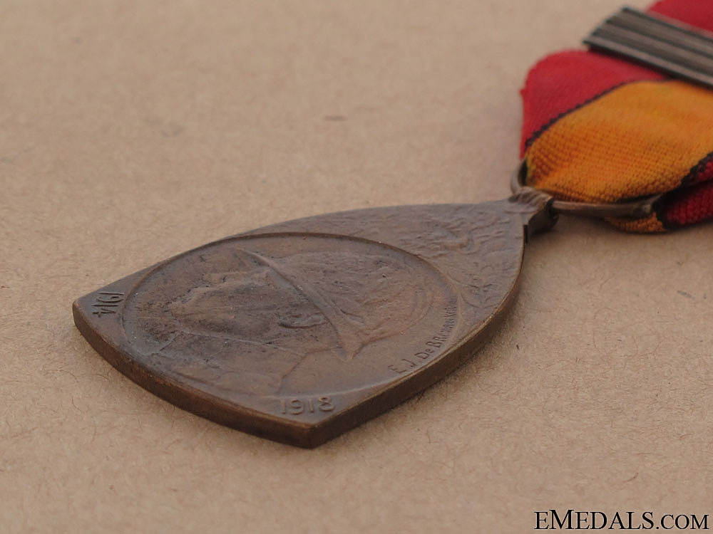 WWI Commemorative Medal, 1914-1918