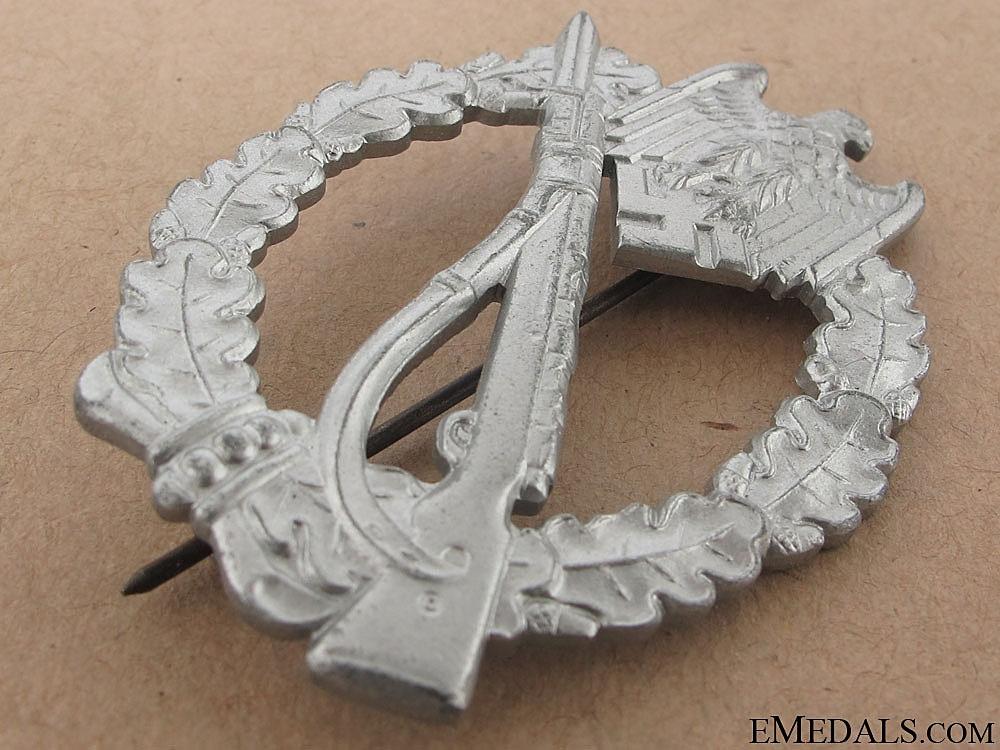 nfantry Badge – Silver Grade & Mint