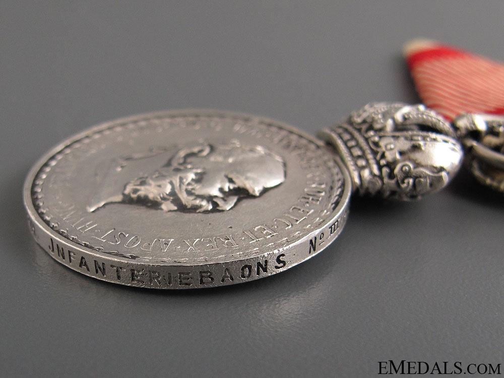 Silver Signum Laudis - Bosnian Regiment