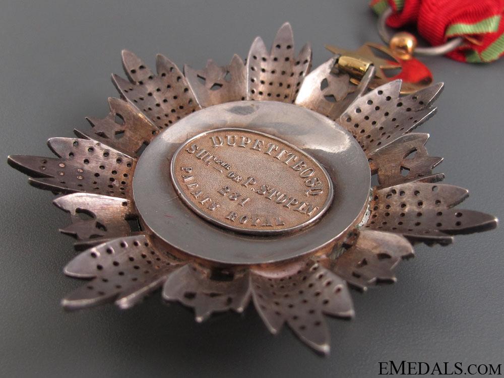 Order of Medjidie (Mecidiye) by P. Stopin