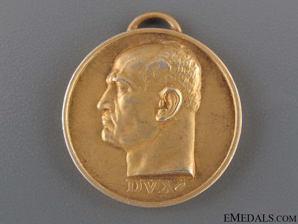 Italian National Exhibition Medal