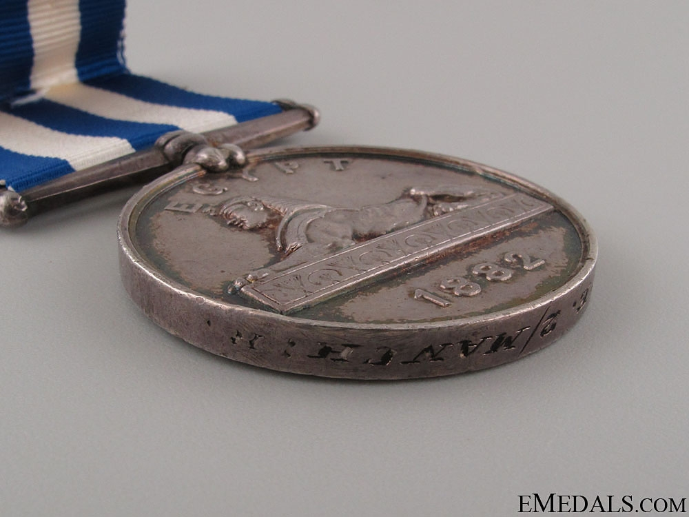 1882 Egypt Medal - Manchester Regiment