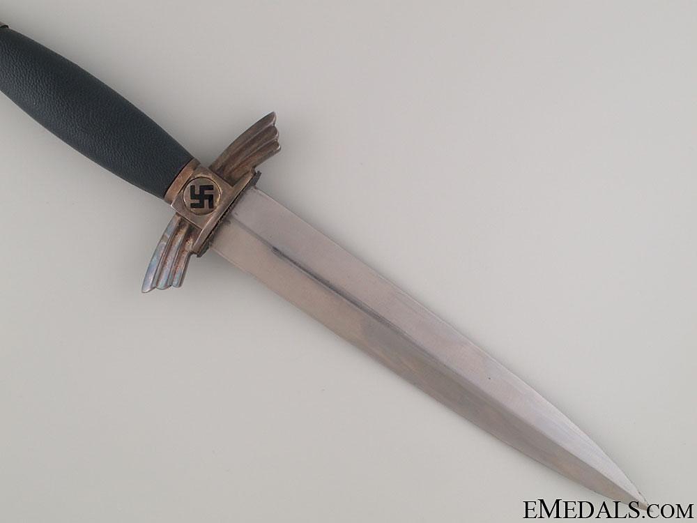 An Early NSFK Dagger by Paul Weyersberg & Co.