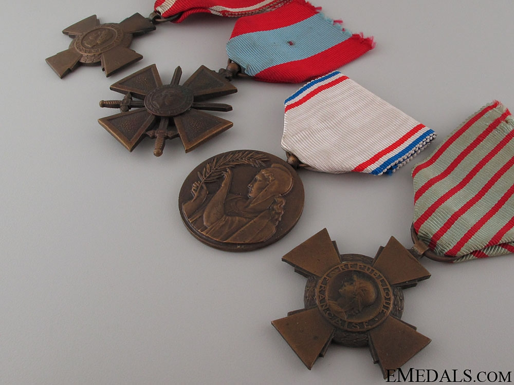 Four French Medals