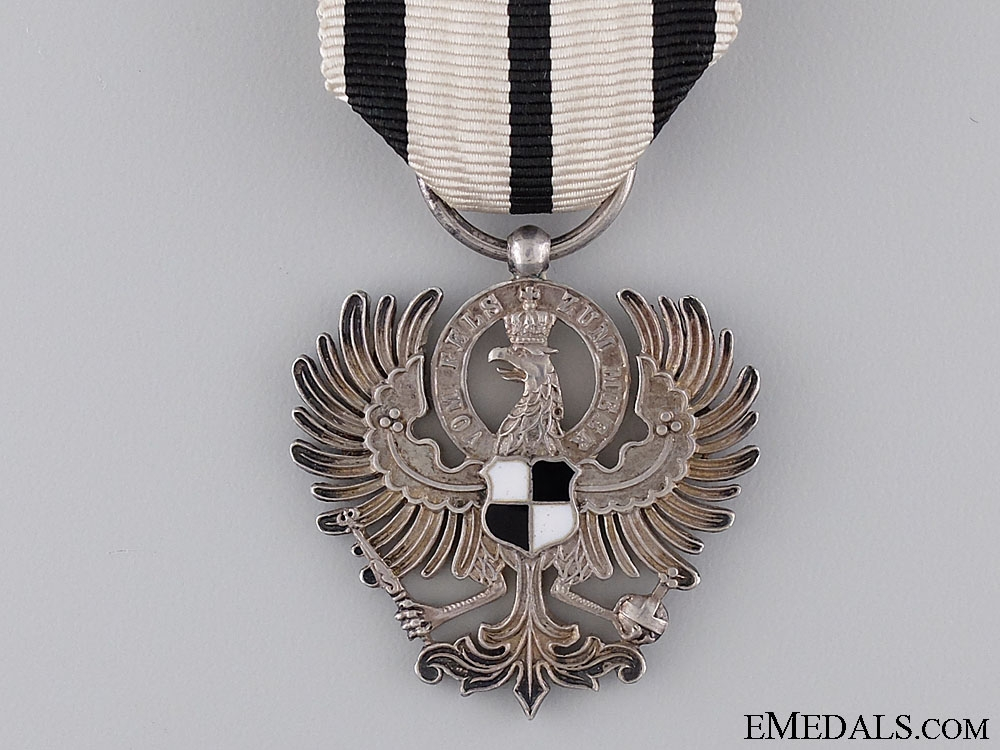 The Order of Hohenzollern in Case of Issue