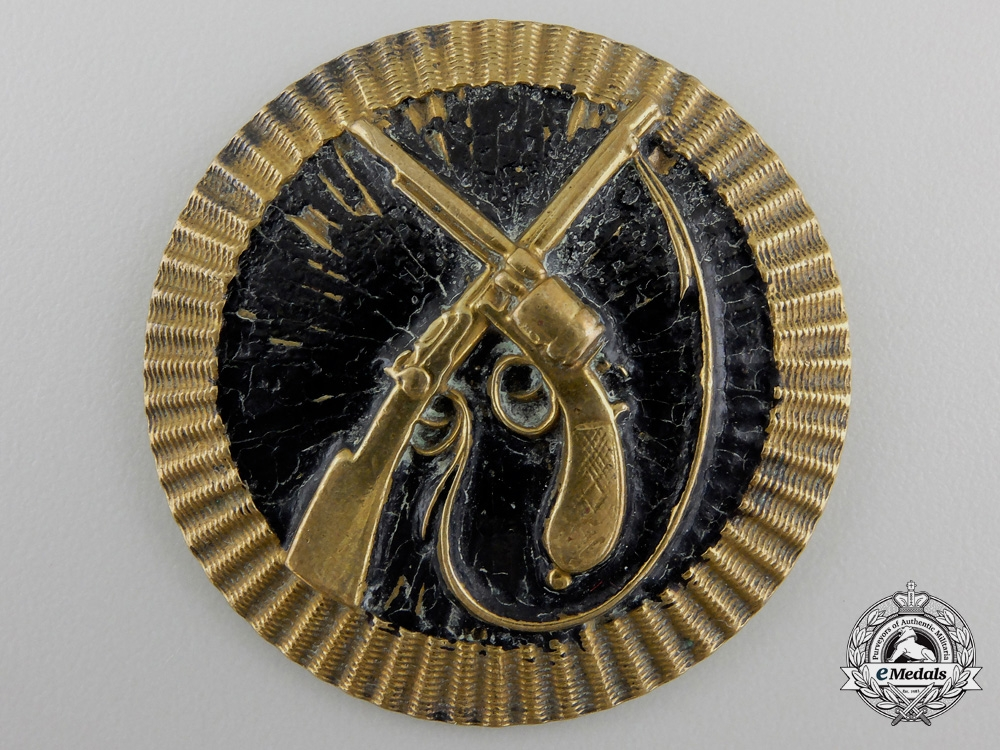 An 1871 Pattern Austrian Cavalry Sharpshooter Badge