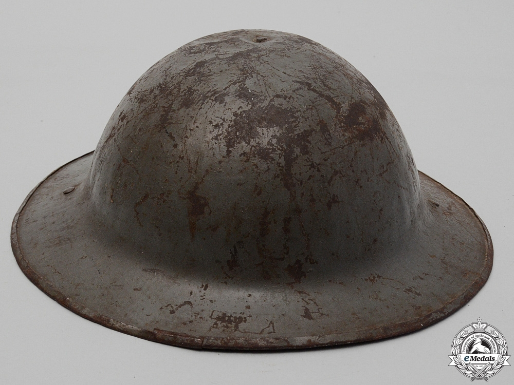 A First War Mark II 43rd Infantry Battalion Helmet