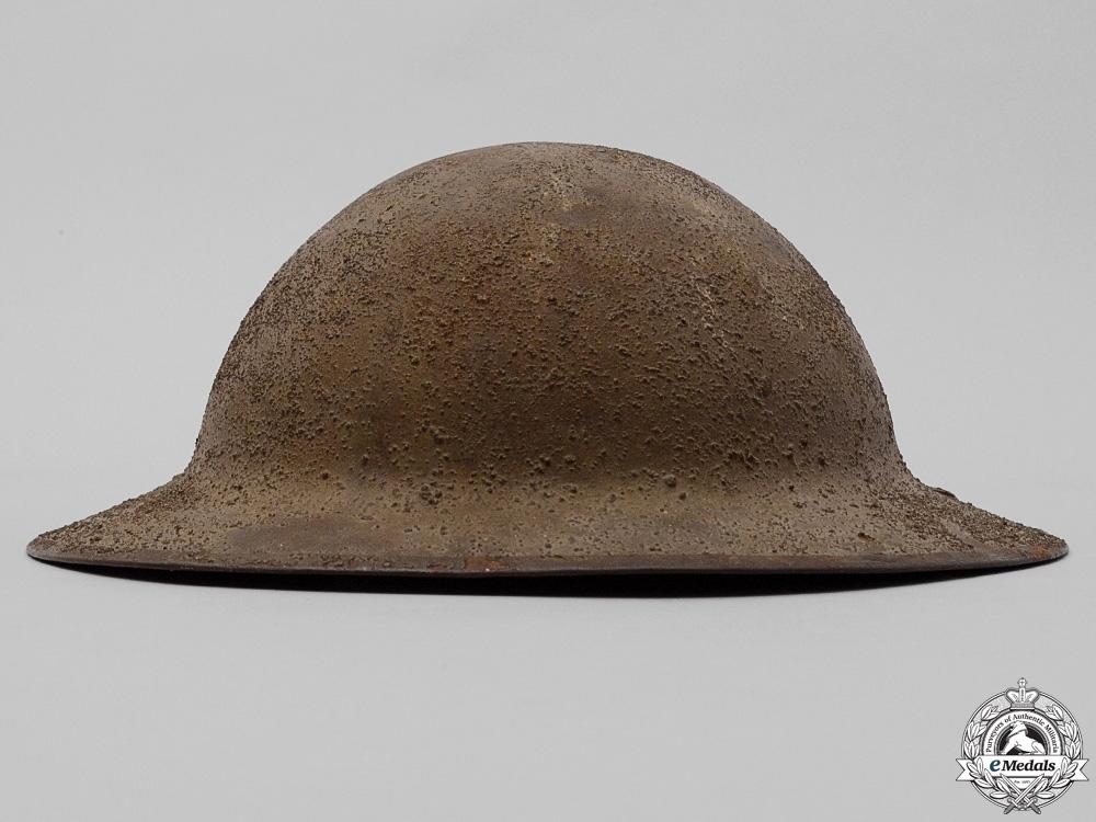 A First War Mark II 102nd Infantry Battalion Helmet