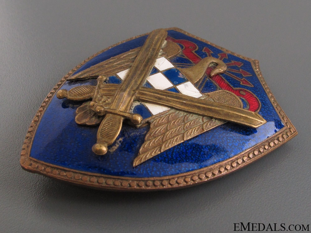 Falange Army Badge