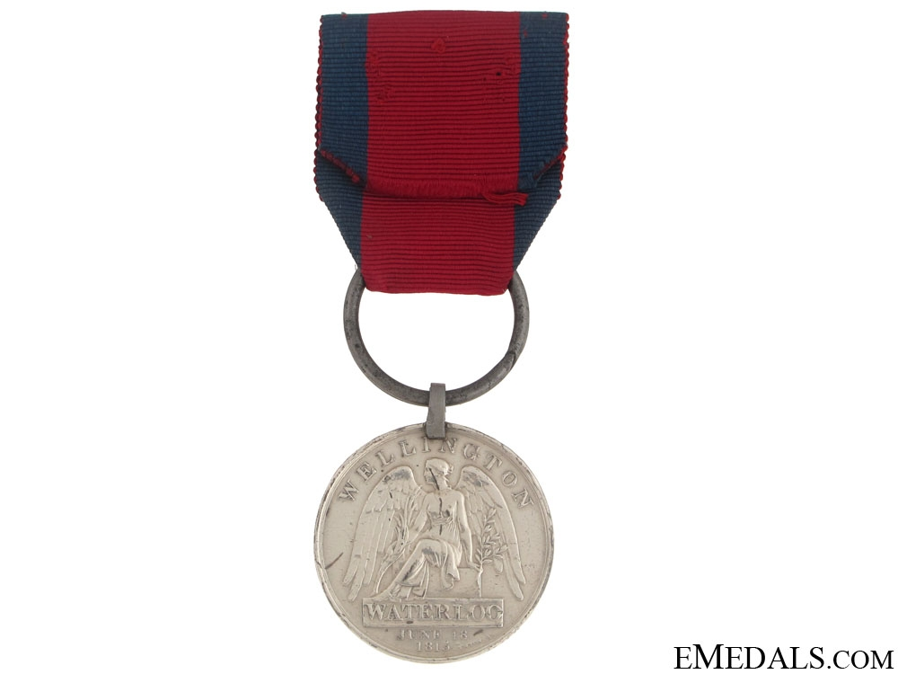A Waterloo Medal to the 71st Foot