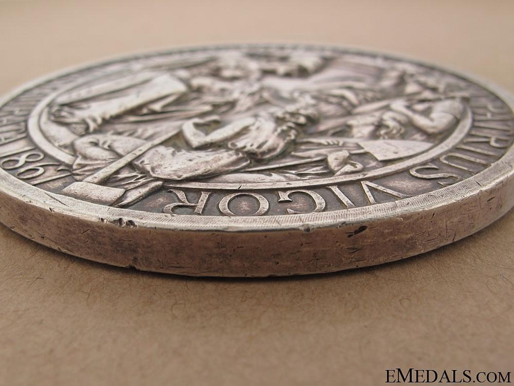 A Rare Confederation Commemorative Table Medal 1867