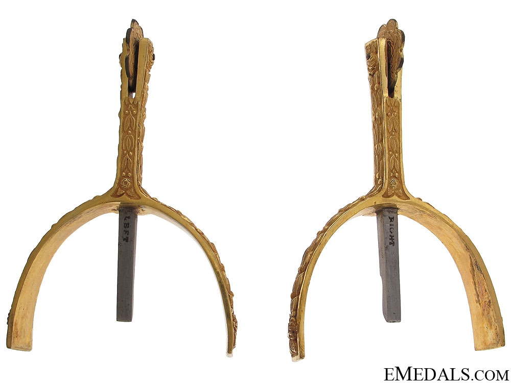 A Set of 18th Century Spurs by Maxwells