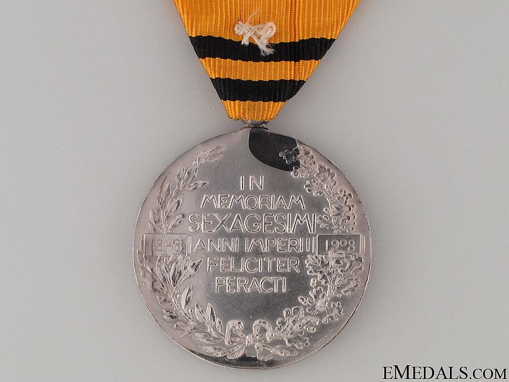 Franz Joseph Jubilee Medal 1908 for Foreigners