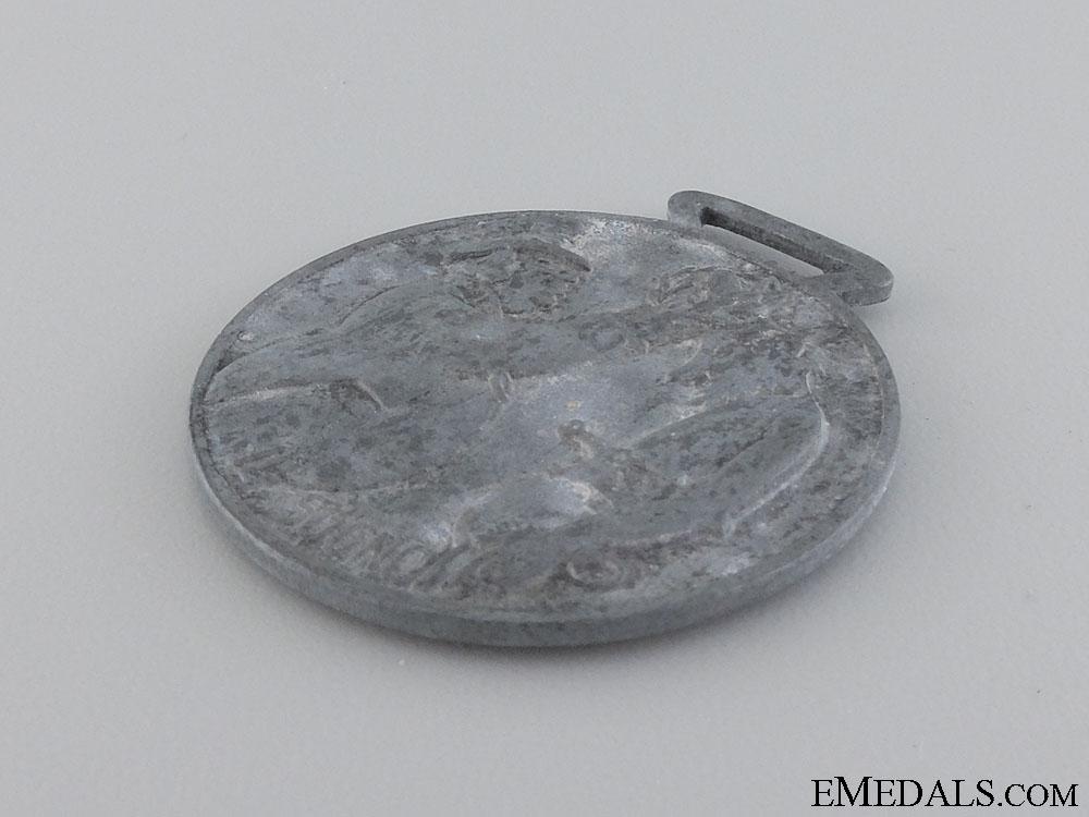 A Rare Repubblica Sociale Italiana (RSI) Anti-Partisan Medal