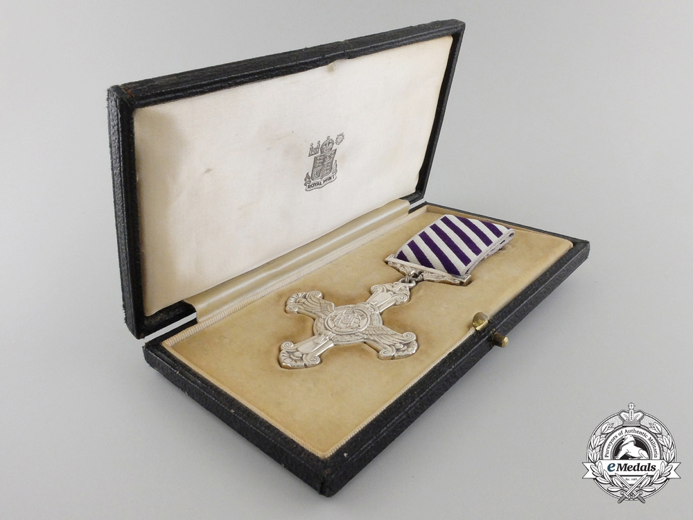 A 1945 Second War Distinguished Flying Cross with Case