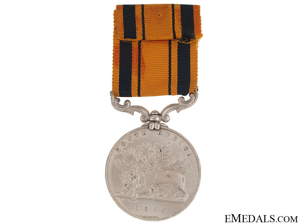 South Africa Medal 1853 - Royal Marines Artillery