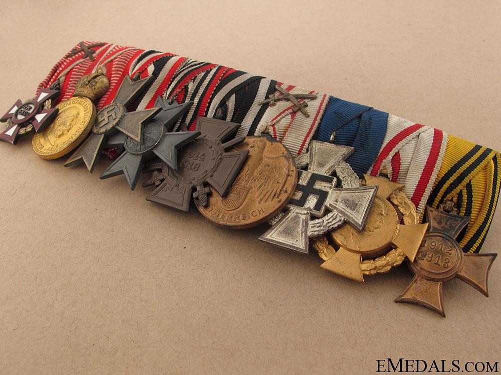 WWI German-Austrian Medal Bar
