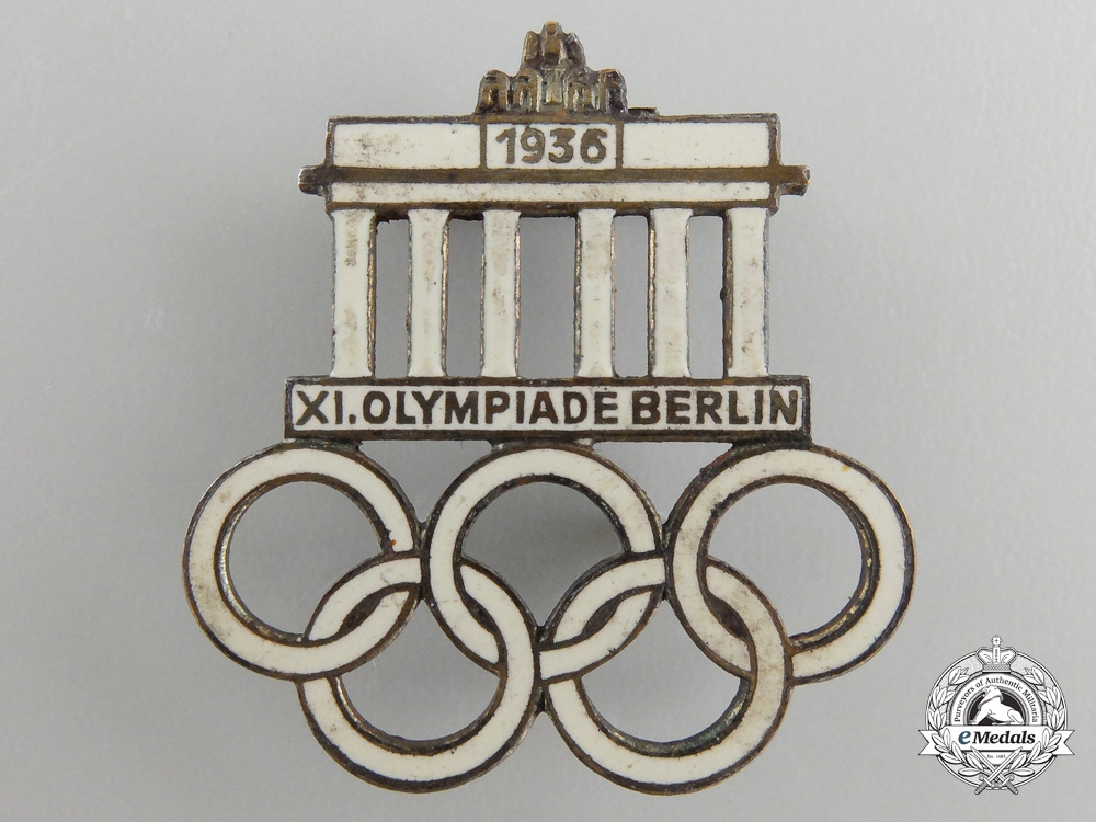 A 1936 XI Summer Olympic Games Berlin Pin