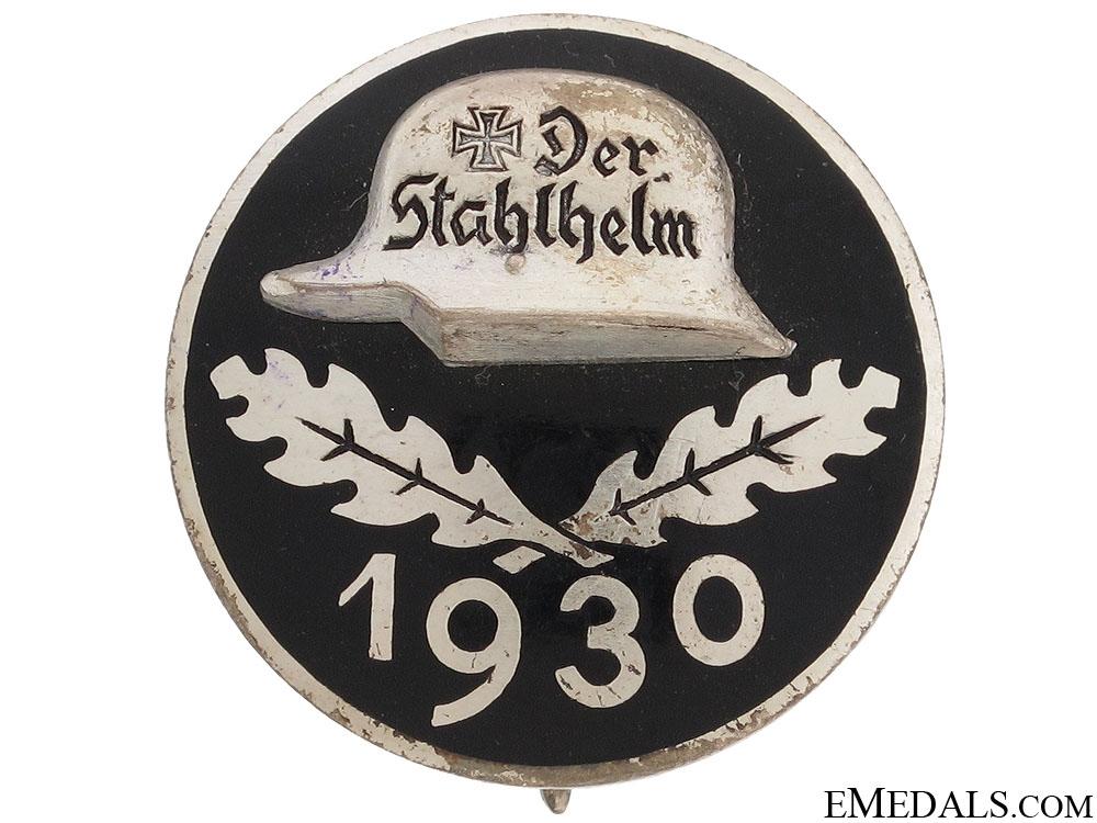 Stahlhelm Membership Badge 1930