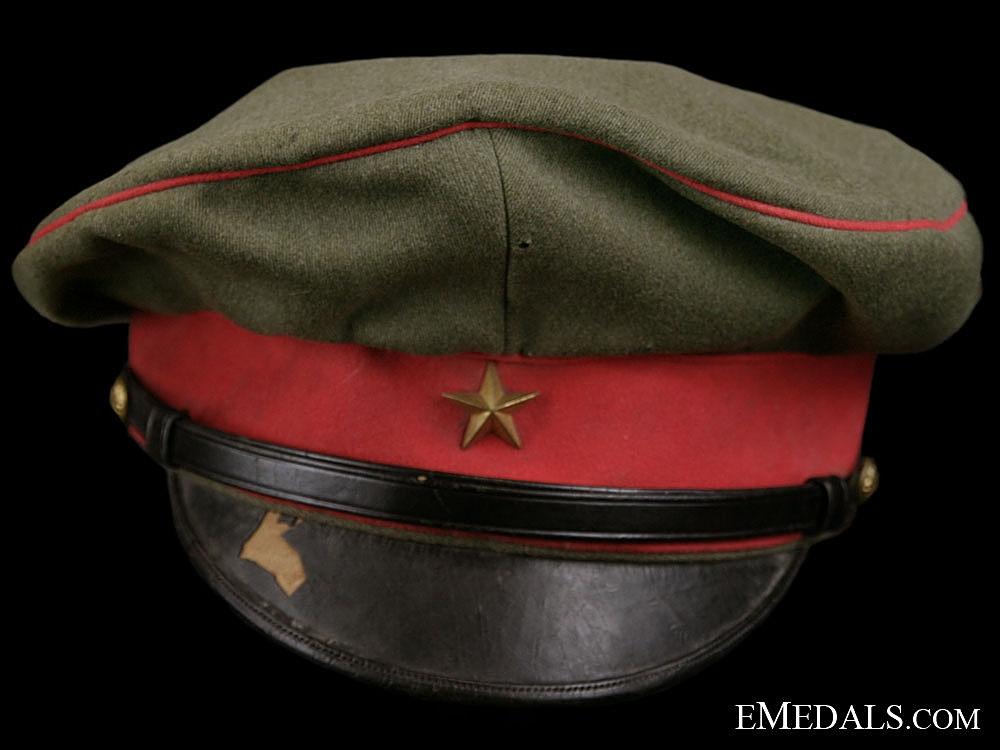 A Second War Japanese Cap