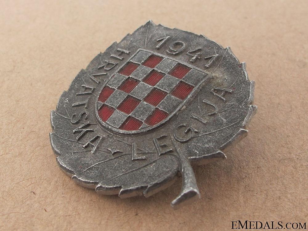 WWII Croatian Legion Award