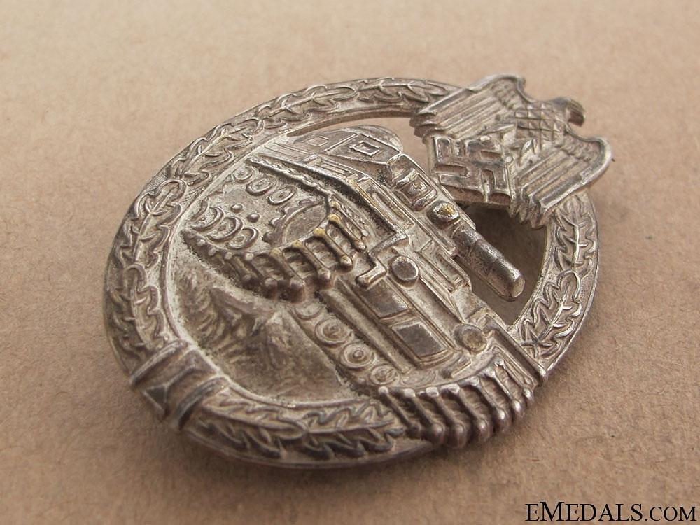 "Tank Badge ""¢¤ Silver Grade"