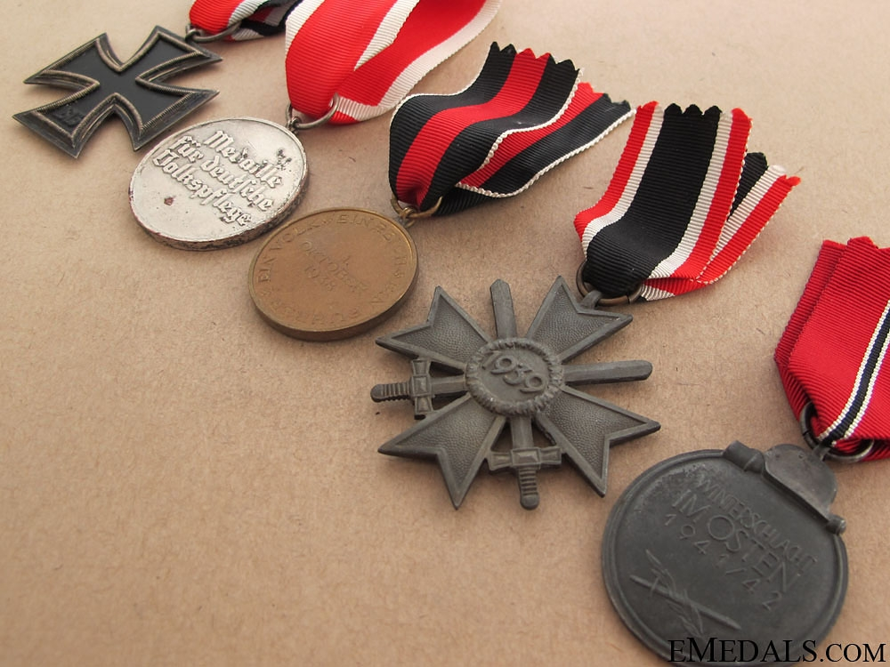 Five German WWII Awards