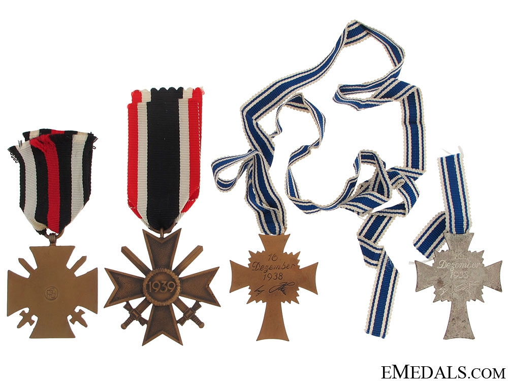 Four German WWII Medals