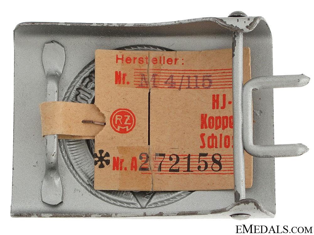 HJ Members Belt Buckle - Mint
