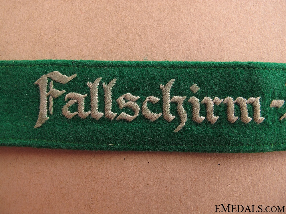 Fallschirm-Jäger Rgt.1 Cufftitle