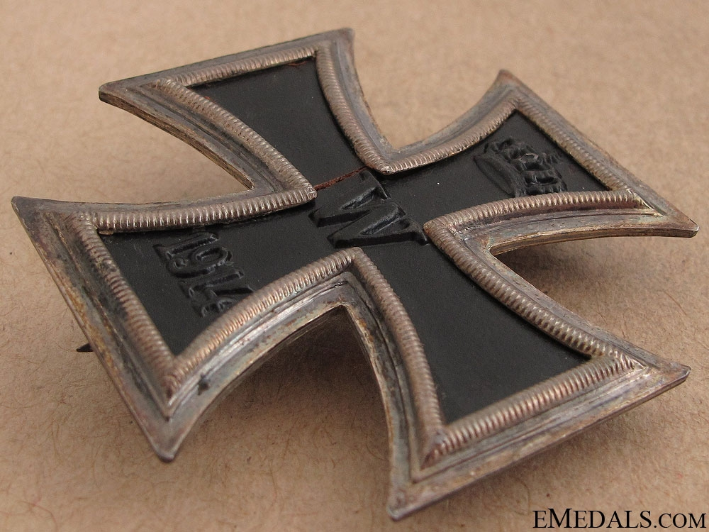 Iron Cross First Class 1914 - Marked