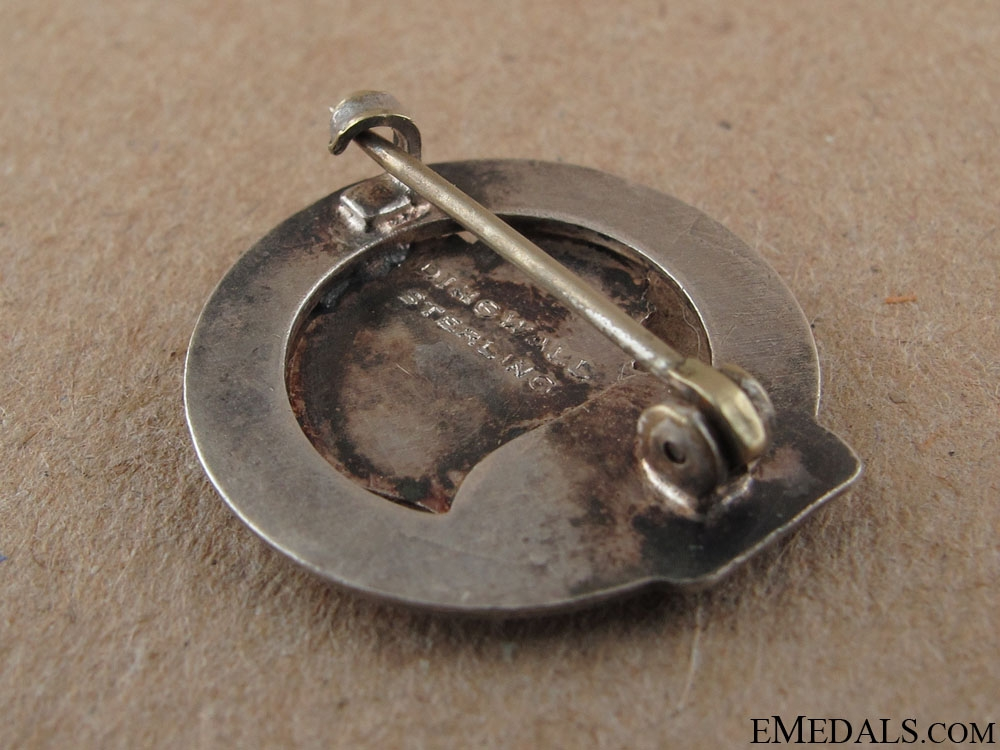 WWI 184th Infantry Battalion Sweetheart Pin