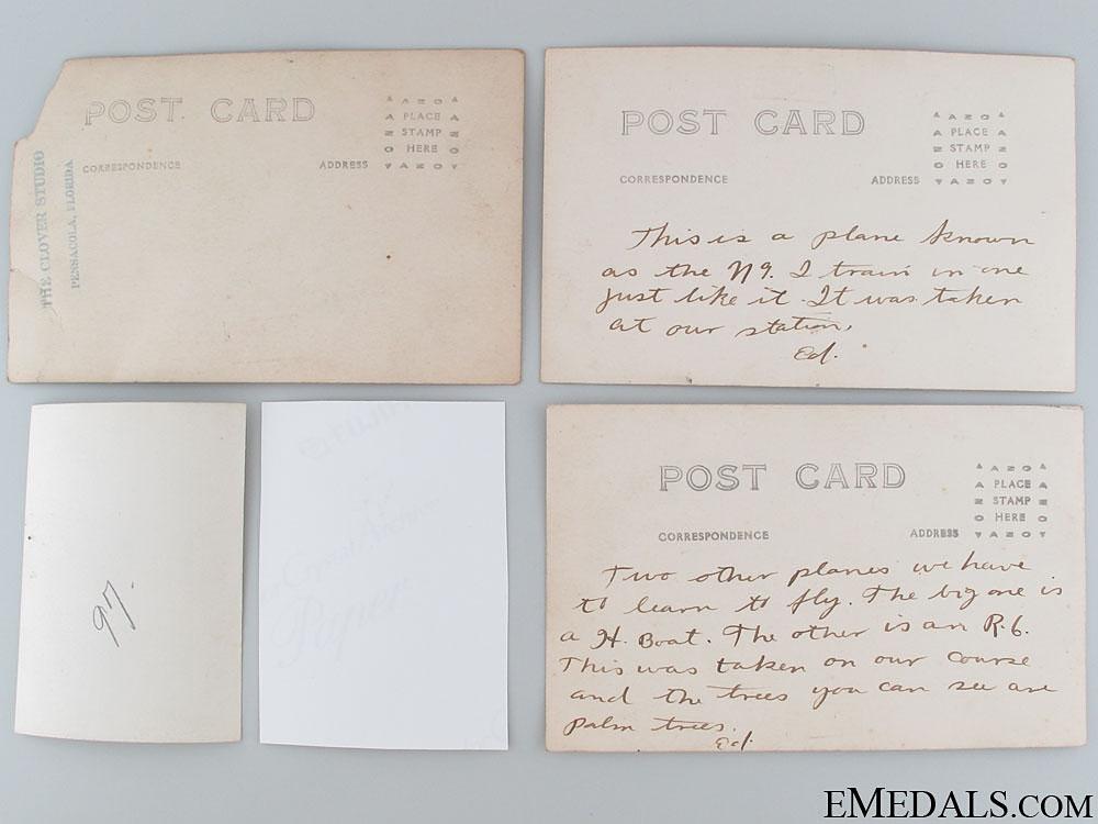 An Early American Pilots Grouping; Panama KIA