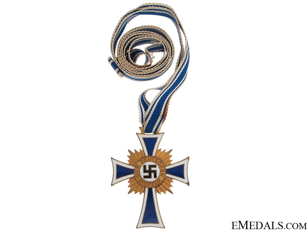 German Mother's Cross - Gold Grade