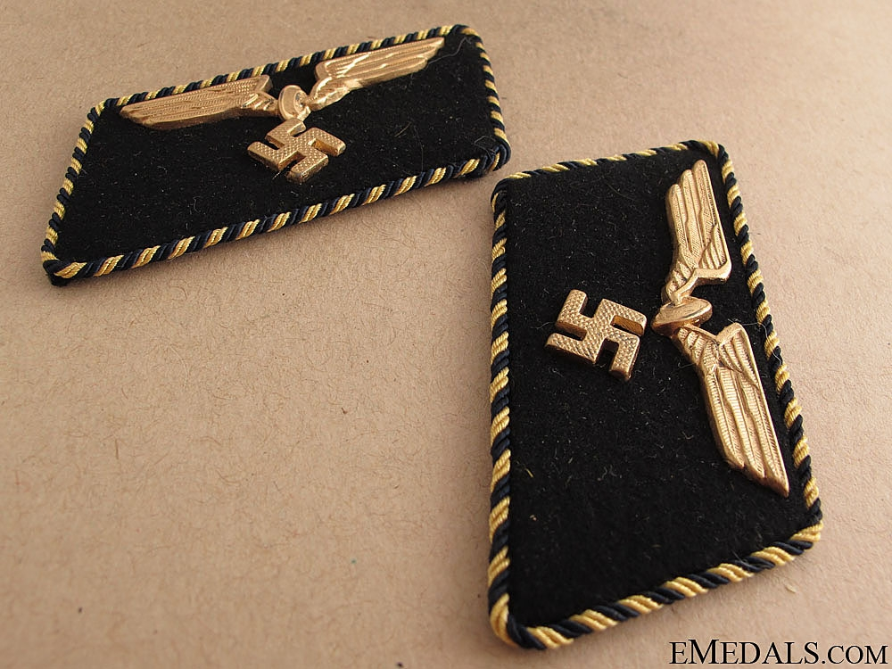 German Railway Shoulder Boards & Collar Tabs