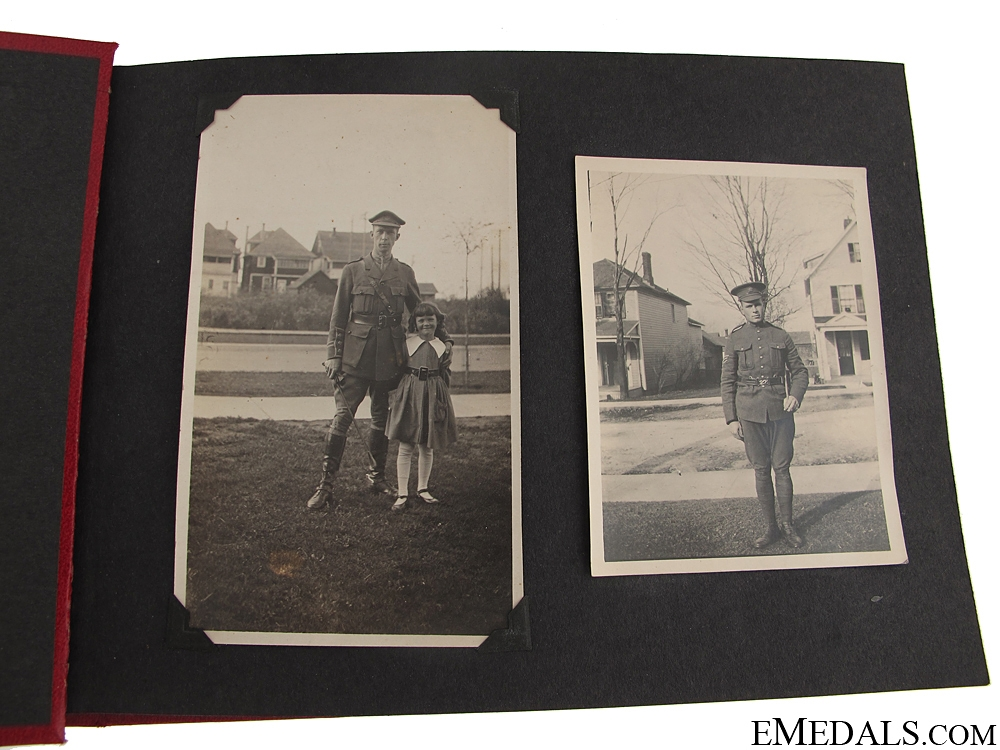 WWI Canadian Vimy Photograph Album