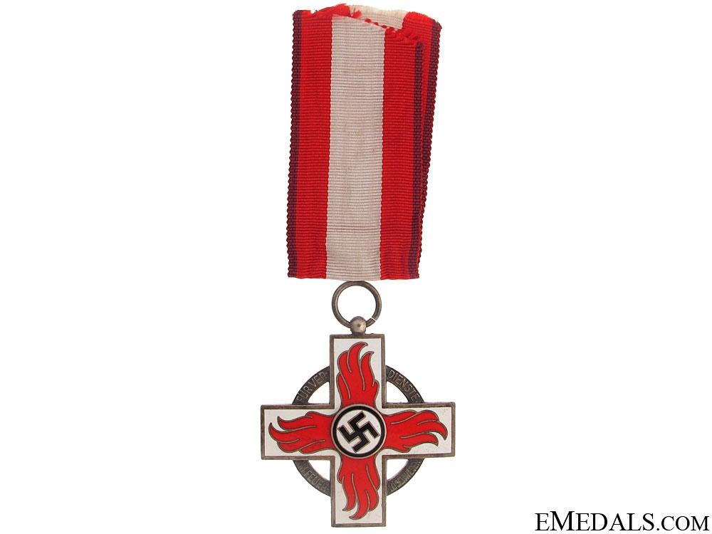 Fire Brigade Cross - 2nd Class