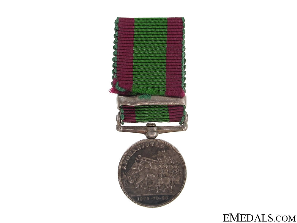 Miniature Afghanistan Medal 1878-1880