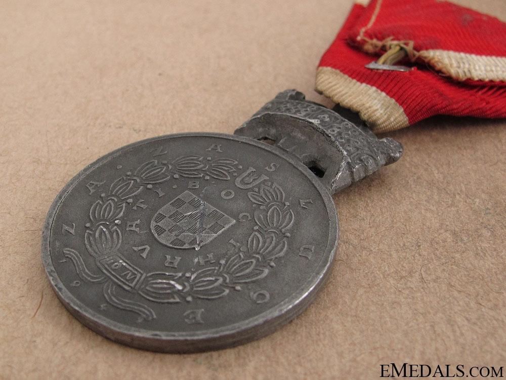 WWII Merit Medal of King Zvonimir