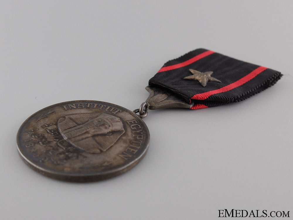 A French Egyptian Institute (Institut d'Egypte) Medal