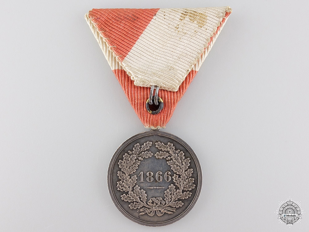 An 1866 Austrian Prague Commemorative Medal