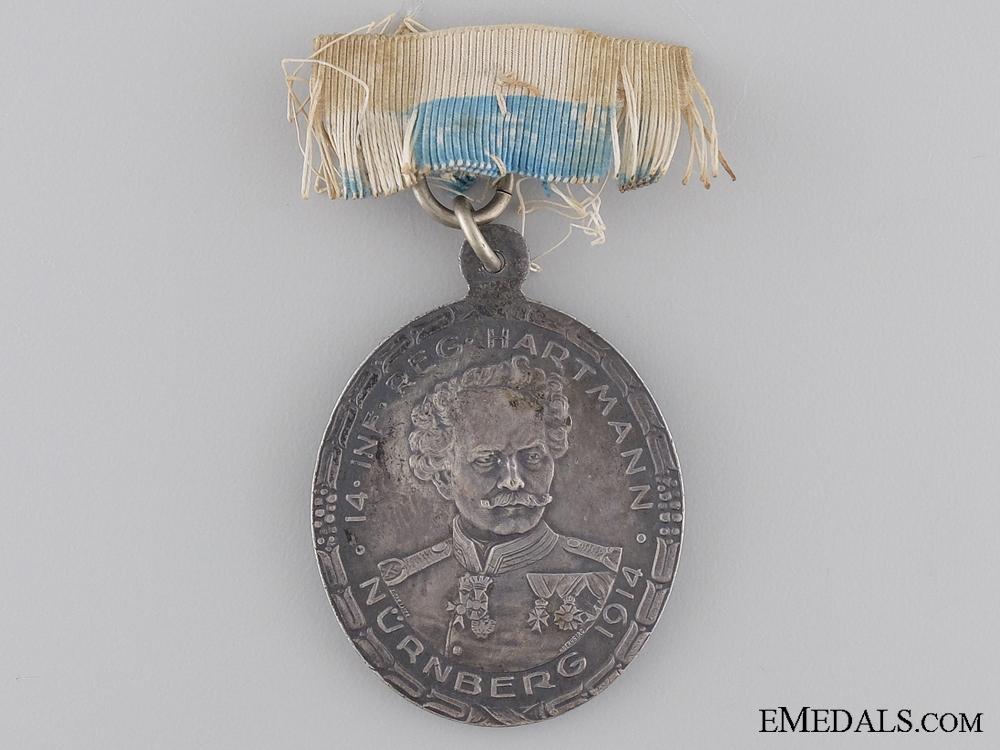 1814-1914 Fourteenth Infantry Regiment (Nürnberg) Medal