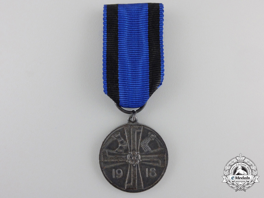 A Finnish Liberation War Medal 1918