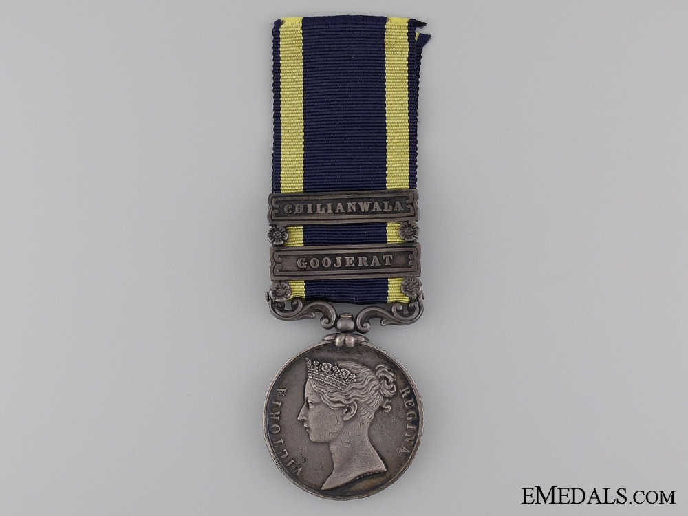 1848 Punjab Medal with Two Bars