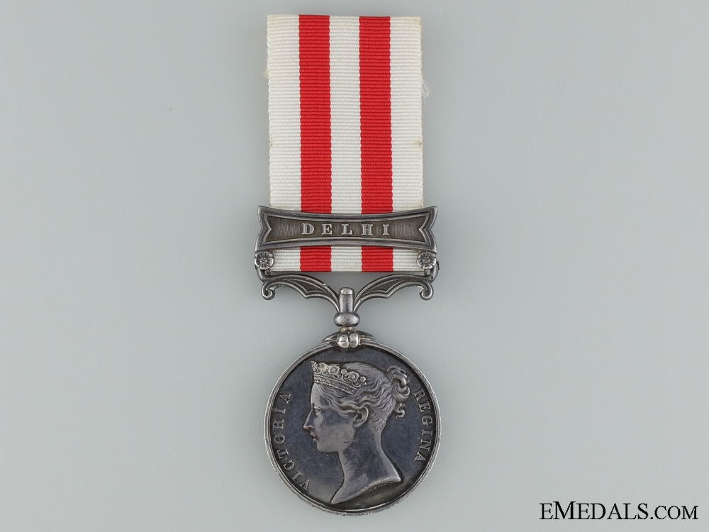 1858 India Mutiny Medal to the 8th Regiment