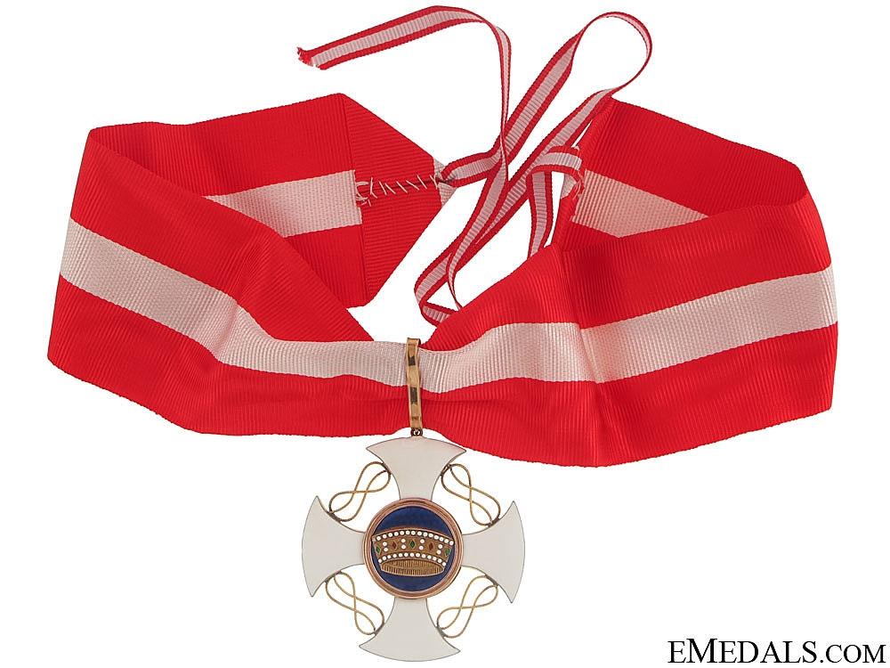Order of the Crown - Commanders Cross