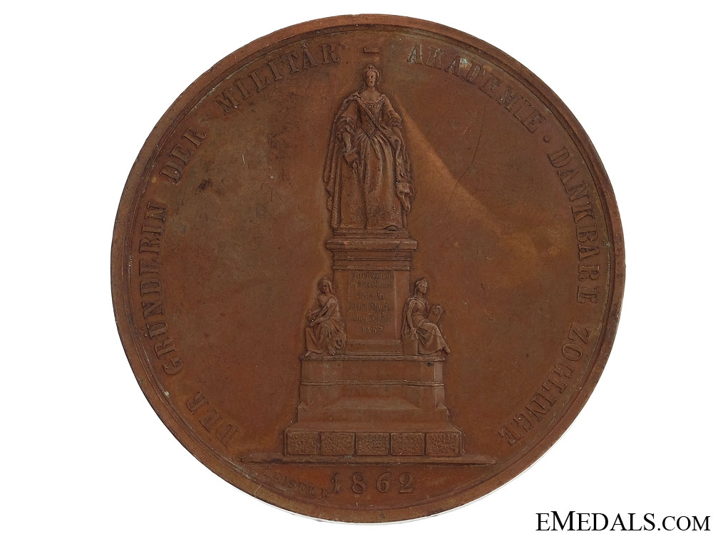 1862 Maria Theresia Table Medal